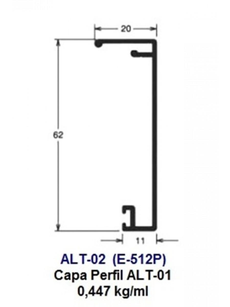 ALT-02 (E-512P) Capa Perfil ALT-01