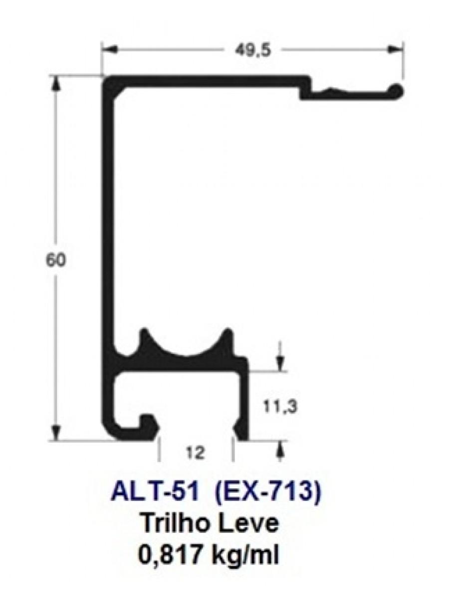 ALT-51 (EX-713) Trilho Leve