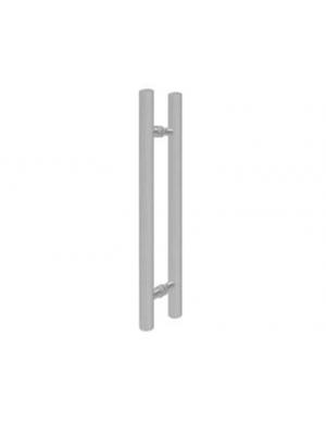 puxador redondo em alumínio PAL  28