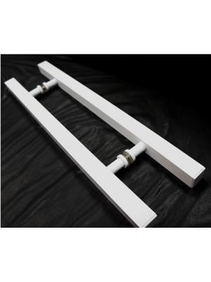 puxador quadrado em alumínio PAL  46
