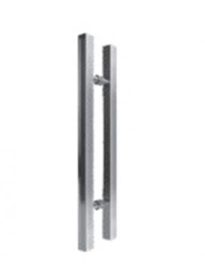puxador quadrado em alumínio PAL  480