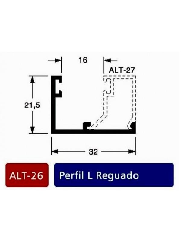 ALT 26- Perfil L Reguado