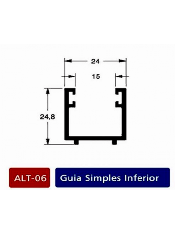 ALT 06 Guia simples inferior