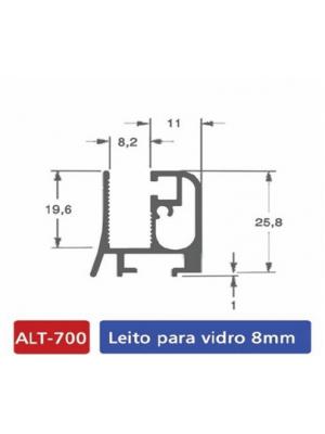 ALT 700 Leito para vidro 8mm