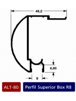 Alt 80  Pefil superior box