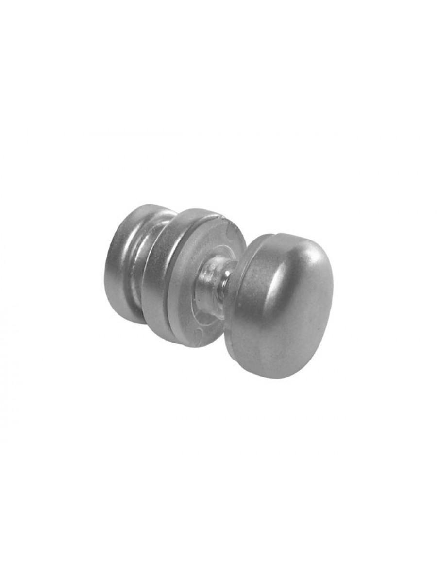 Botão de correção com calota para vidro
